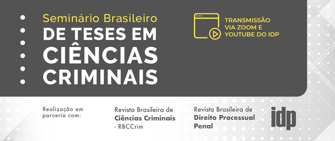 Justiça Negociada e Fundamentos do Direito Penal   Seminário Brasileiro de Teses em Ciências Criminais