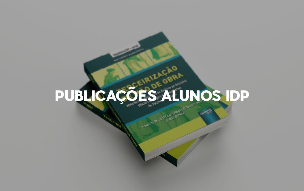 Coleção IDP Juruá lança primeiros livros